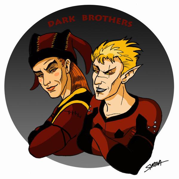 The Dark Brothers by SlayerSyrena