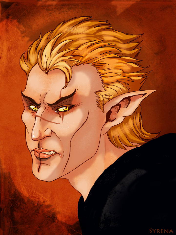 Cevenor Portrait by SlayerSyrena