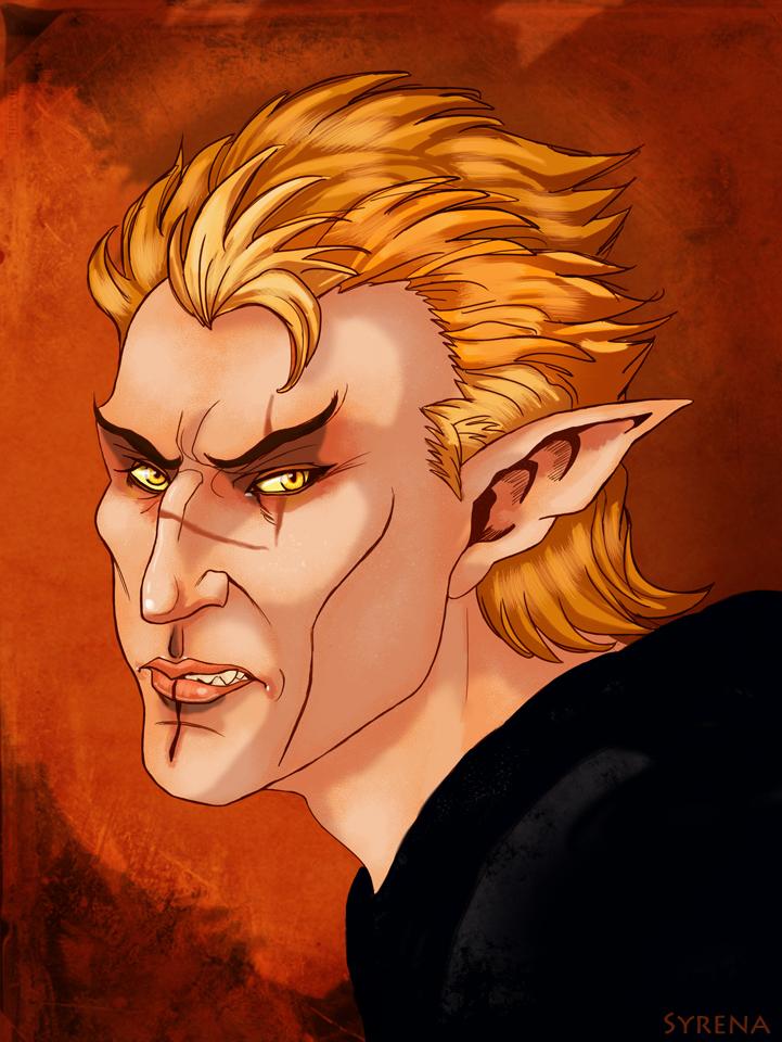 Cevenor Portrait by SlayerSyrena