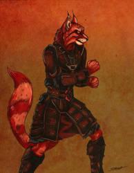 Punchcat! by SlayerSyrena