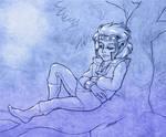 Sleepy Skywise by SlayerSyrena