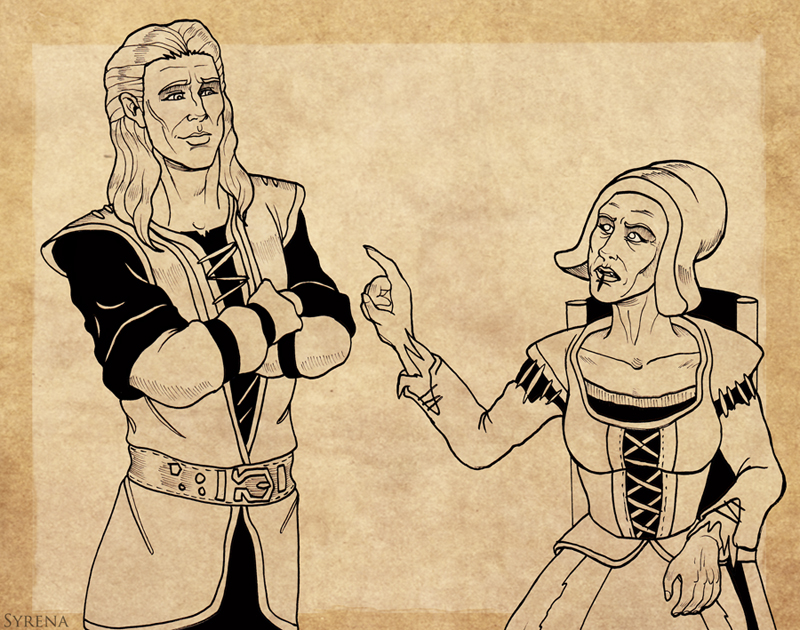 Sven and Hilde by SlayerSyrena