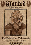 Wanted: The Butcher of Valenwood