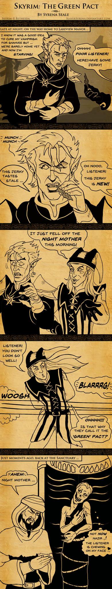 Skyrim: The Green Pact by SlayerSyrena