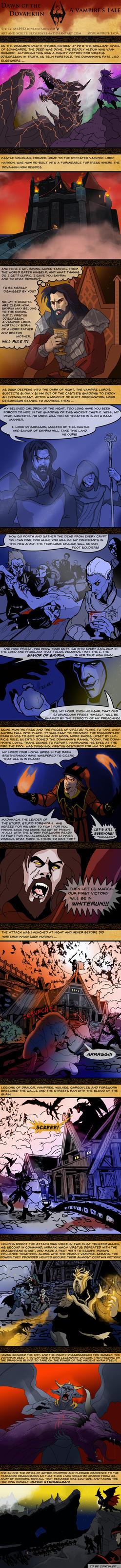 Skyrim: Dawn of the Dovahkiin by SlayerSyrena