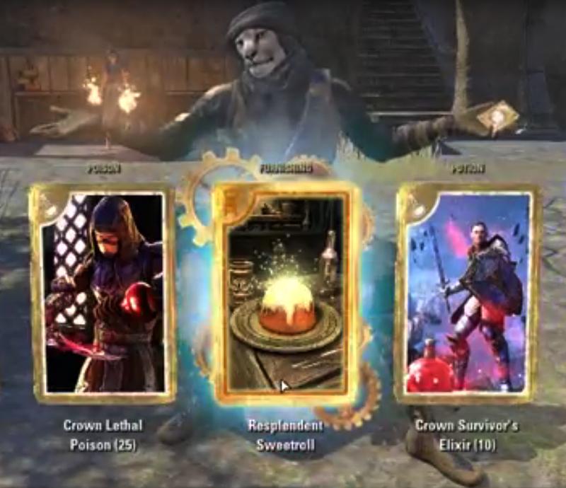 Rare Resplendent Sweetroll — Elder Scrolls Online