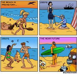 The Beach Through History