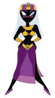 Queen Tyr'ahnee from Duck Dodgers