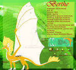 .Berthe  - Reference Sheet. by luxbee