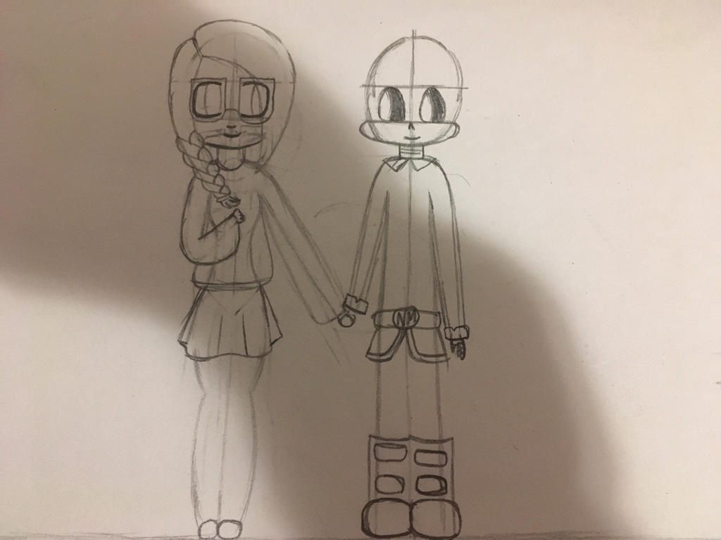 The Line Art Challenge : Art challenge that i just finished by buttontalefangirl on deviantart