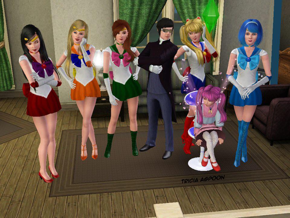 Sailor Moon The Sims 3 by sugarandspice5 on DeviantArt