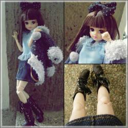 Takara Licca-chan doll OOTD! by sugarandspice5