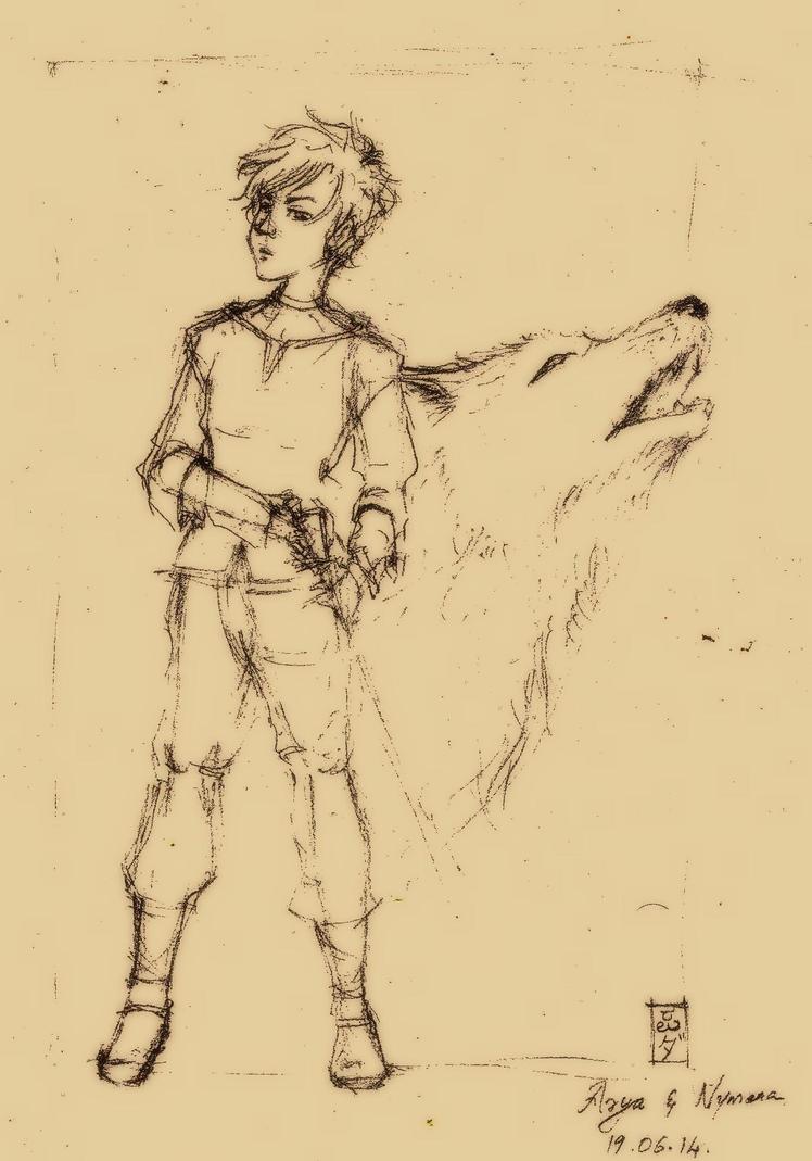 Arya Stark (WIP) by VayuPutri