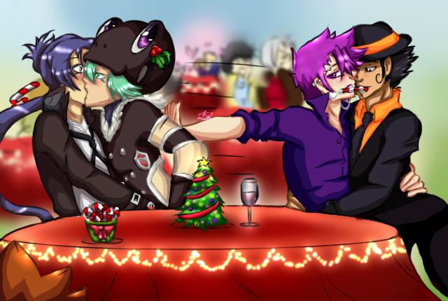 Merry Christmas part 1 (?) by NanamiDarkfox
