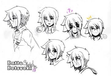 Katto Ketsueki Sketches by NanamiDarkfox