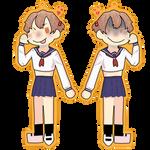 yaguchi keychain design (fanart)