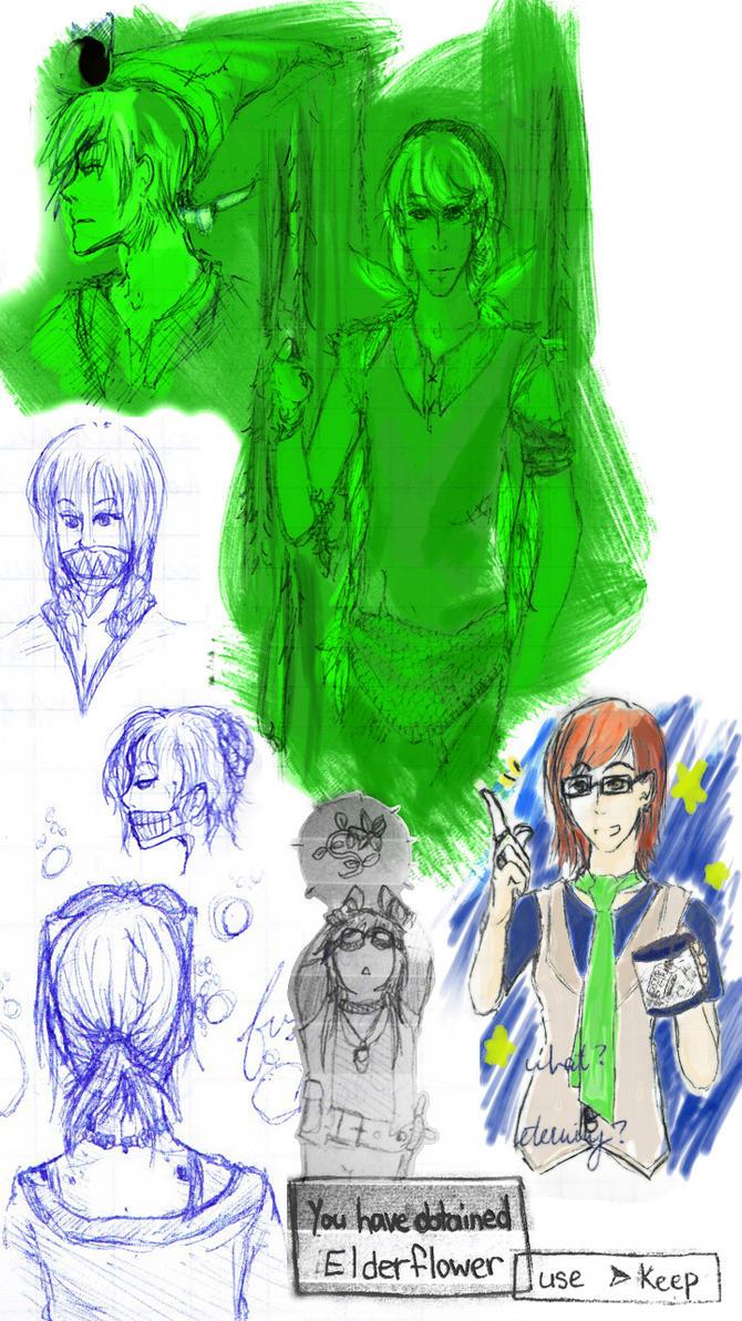 sketchdump Sept by Erulastiel