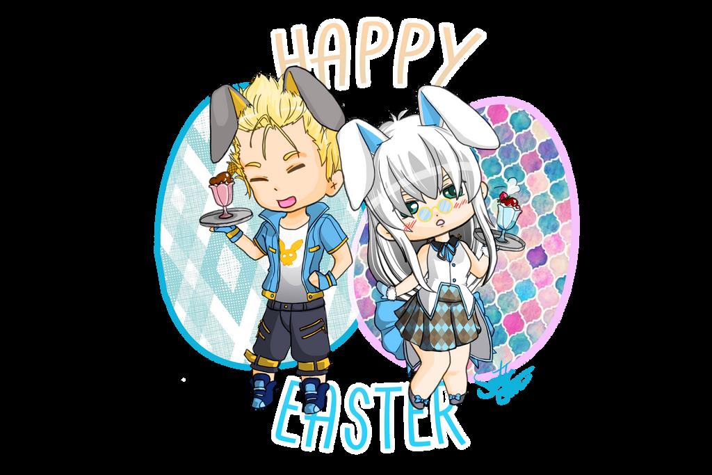 Happy Easter by Erulastiel