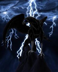 Dark Griffin by Teuskiz
