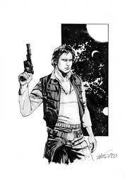 Han Solo commission by marcocastiello