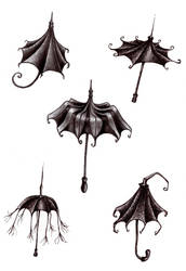 parapluies by yellowteeth44