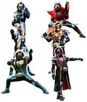 Legendary rider eyecons by Fu-reiji