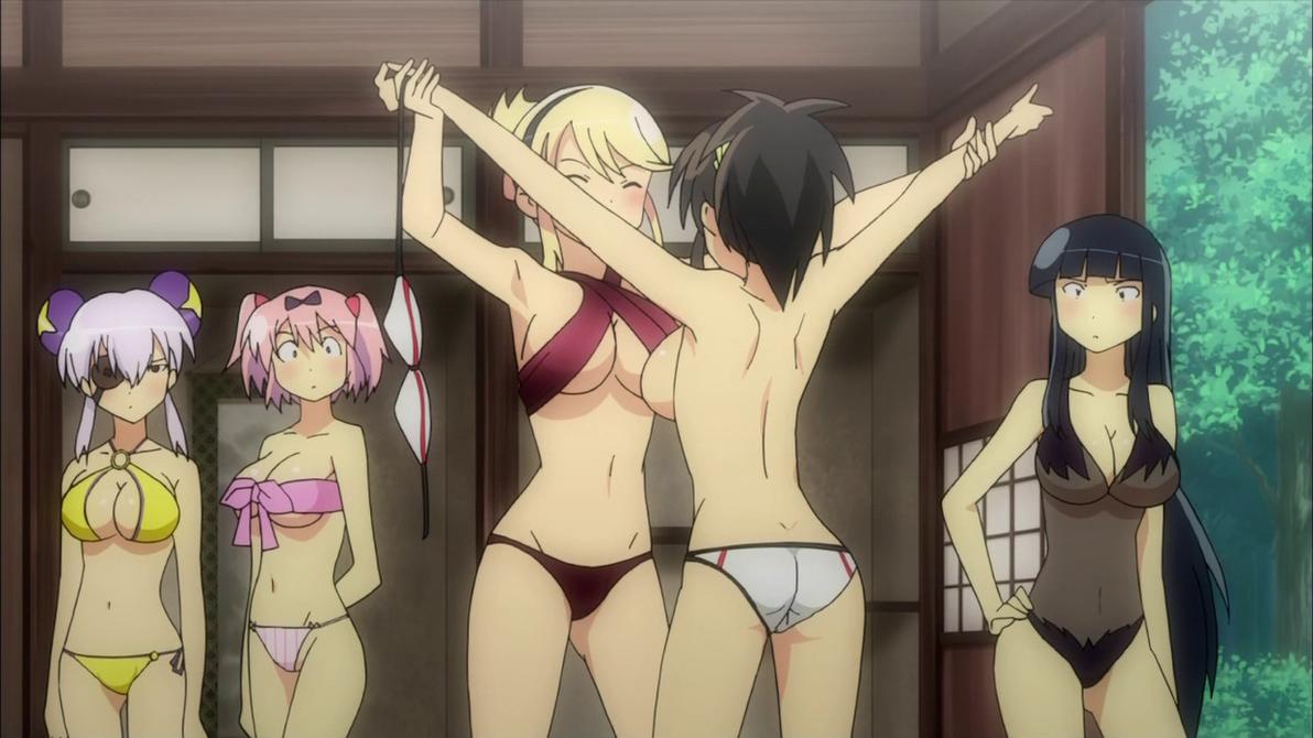 Просмотр аниме интимные секреты девочек-ниндзя