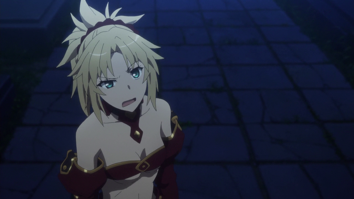 Fate Mordred Cat Face