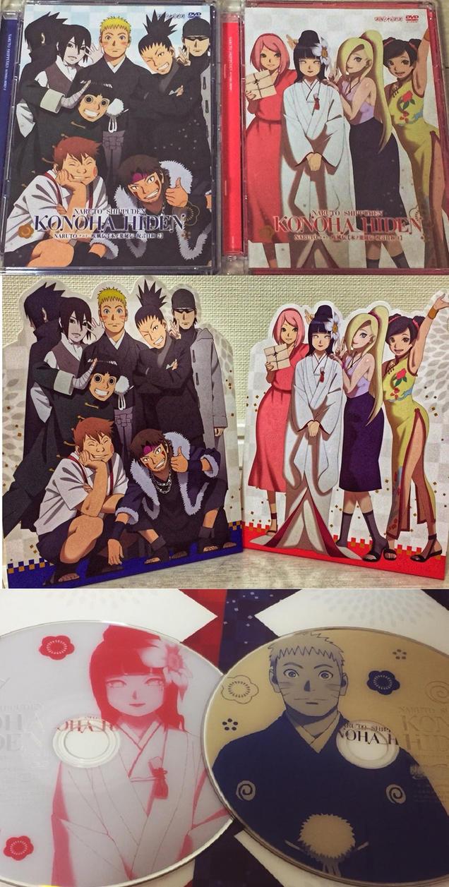 Konoha Hiden DVD Box Set By Fu Reiji On DeviantArt