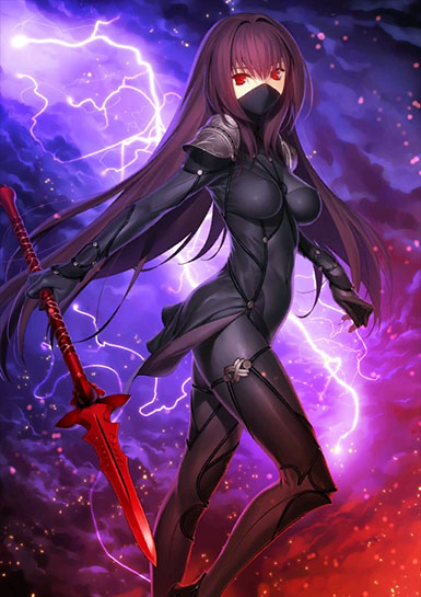 Servant Profiles Scathach_is_here_by_fu_reiji-dbubvjg