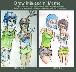 Draw this Again meme by toasterb0t
