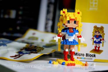 Sailor Moon block figure