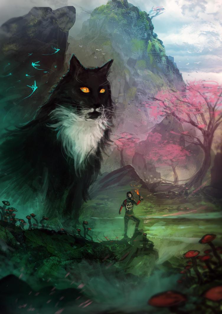 Cat Fantasy by saleemakhtar