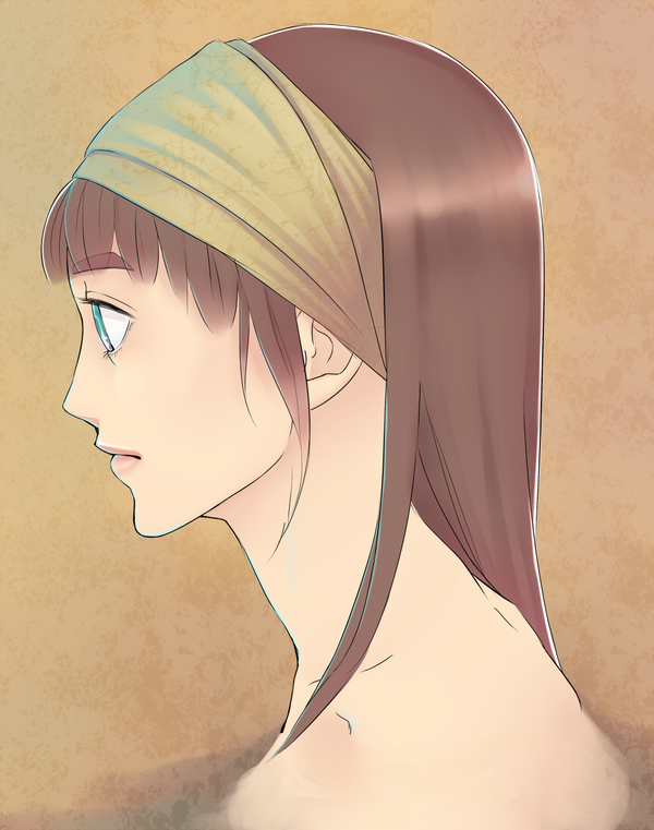 Headband Girl by Lukeru