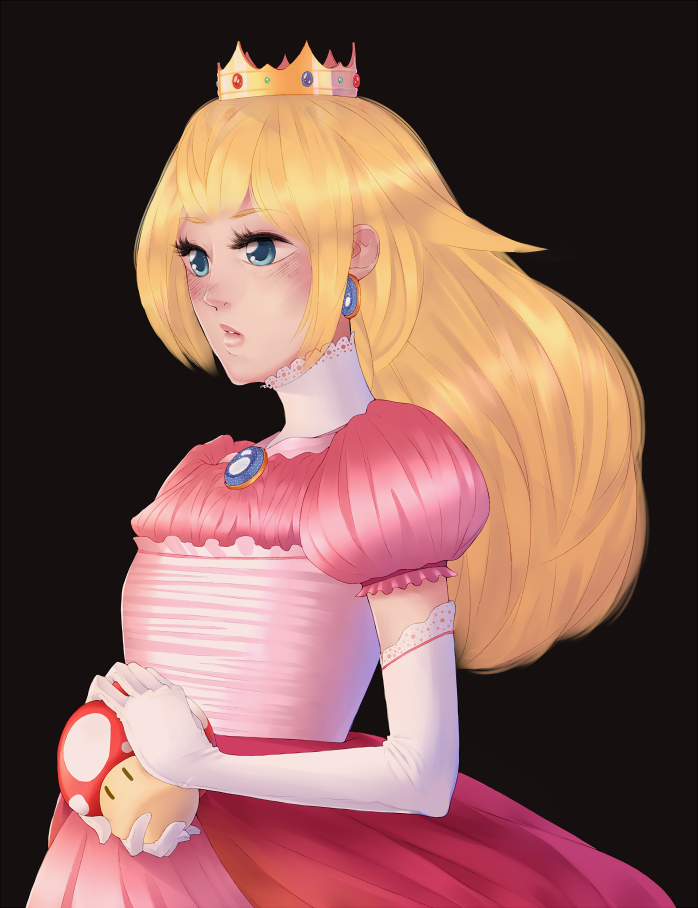 Princess Peach by Lukeru