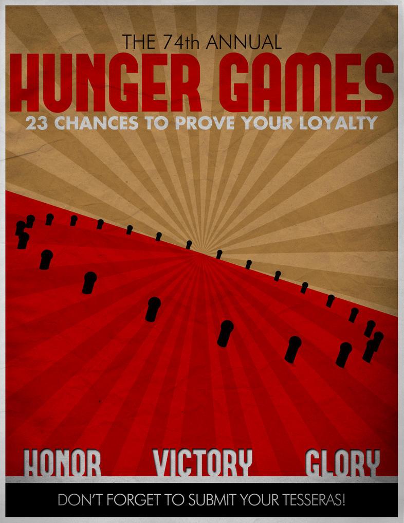 The Hunger Games propaganda poster 1 by Marazzo