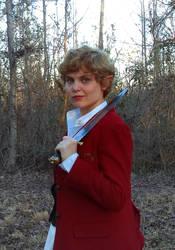 fem!Bilbo- clue finder, web cutter, stinging fly