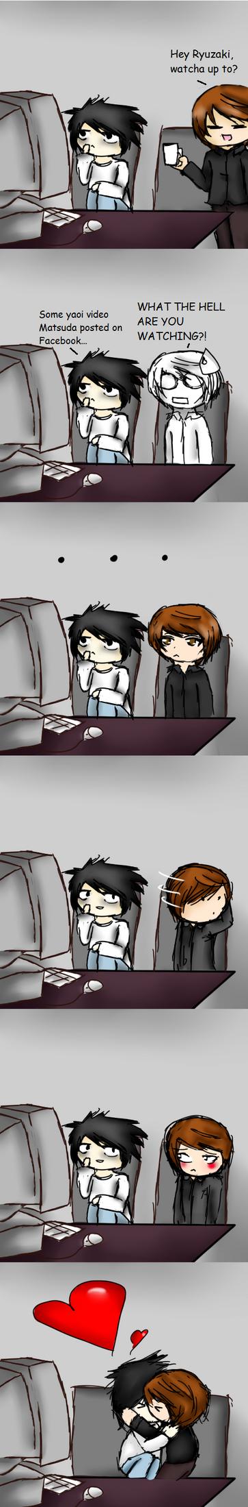 Light X L Comic by WendySakana