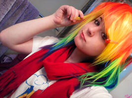 WIP - Rainbow Dash Cosplay by WendySakana