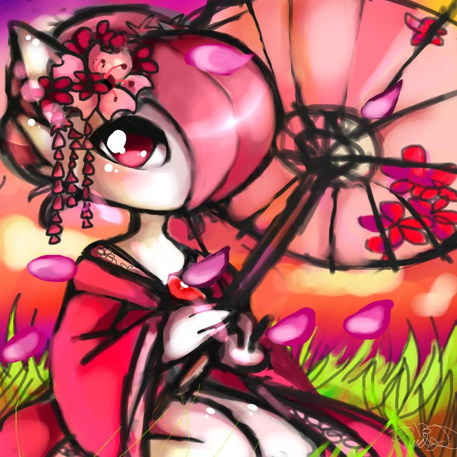 Sakura Gardevoir by WendySakana