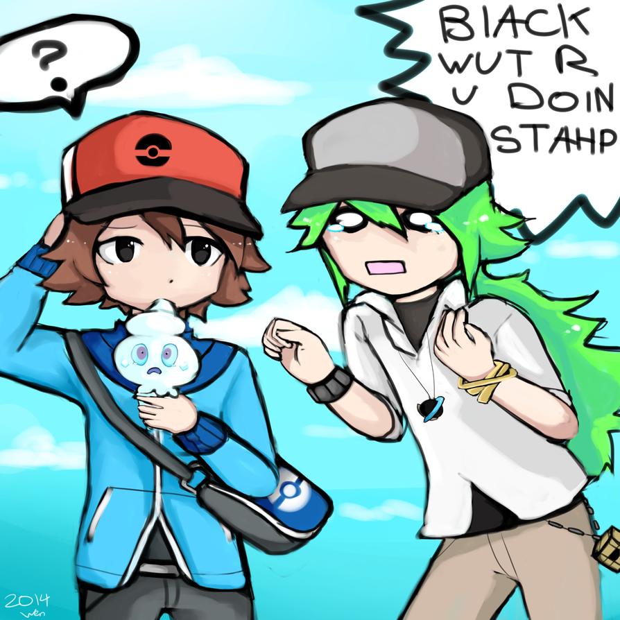 Black Wut r u  Doin by WendySakana