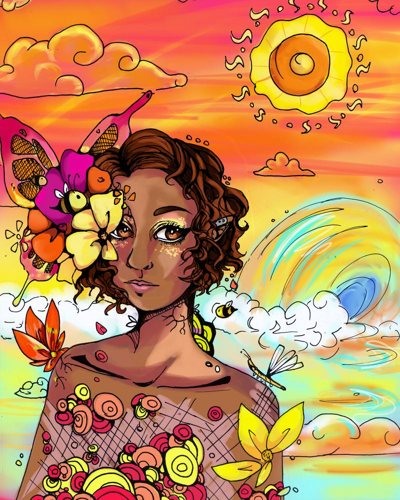 Blooming by WendySakana