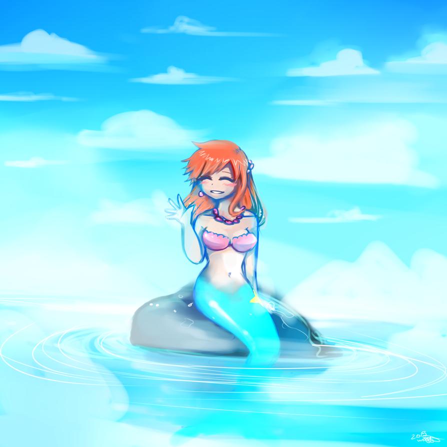 Misty Mermaid by WendySakana