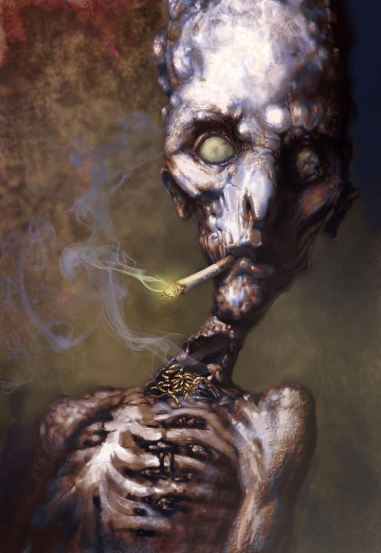 Smoking Dead by KrisCooper