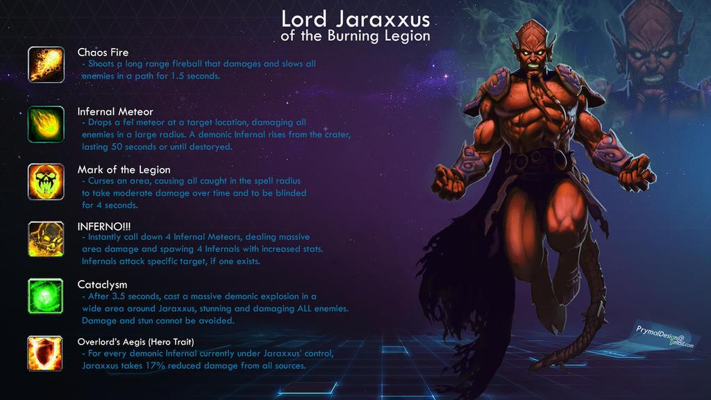 [hero concept] - Jaraxxus - Heroes of the Storm by KrisCooper