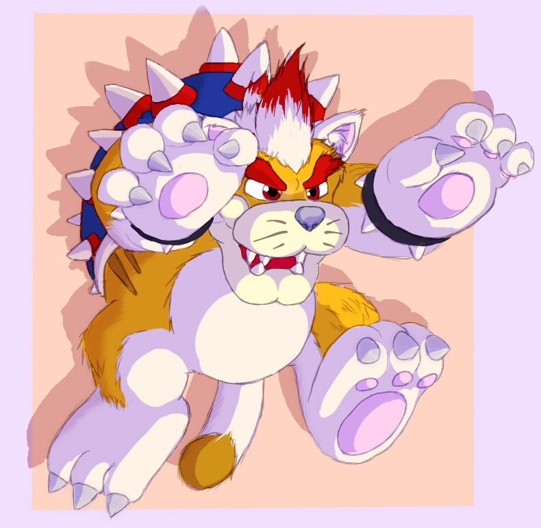 Cat Bowser by DragonSlash1