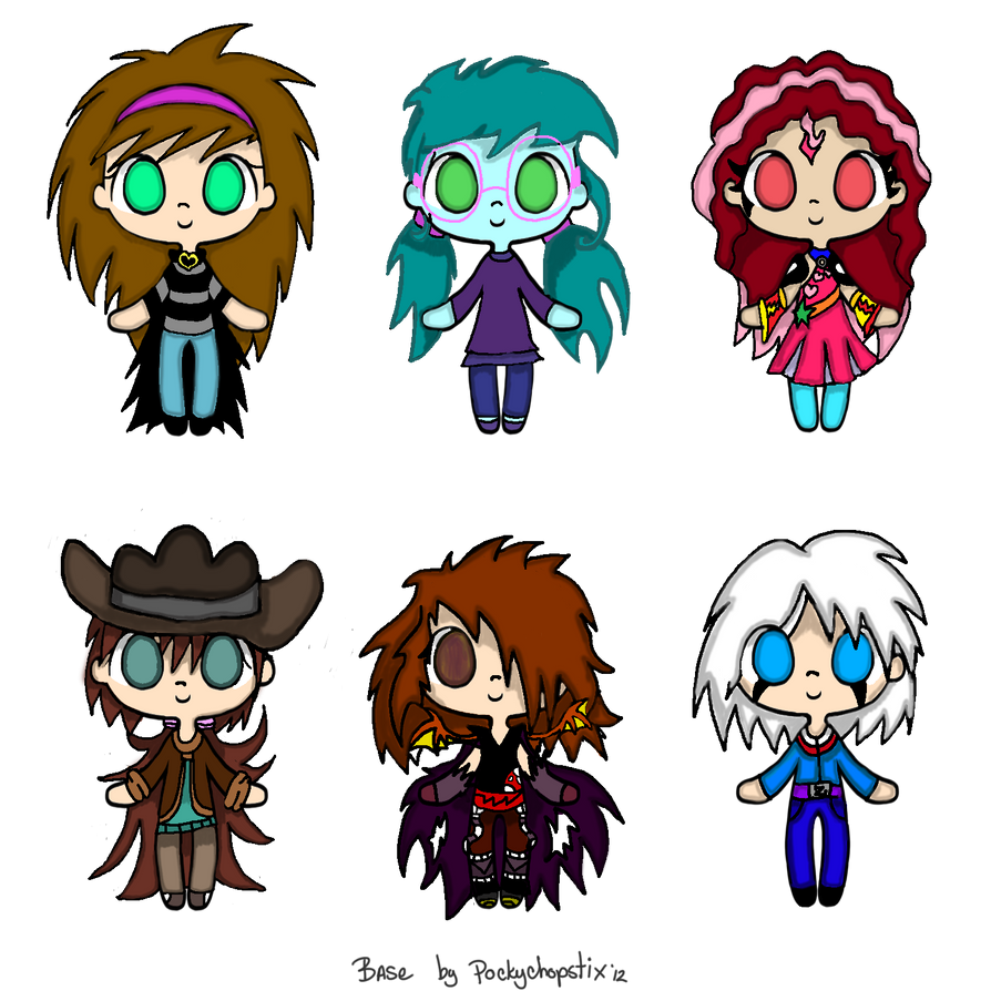 Chibi gifts by The-Angel-D