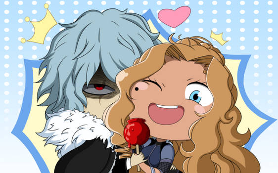 :BG: Snow king and queen