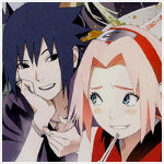 SasuSaku icon from new Naruto movie by iAmTamashii