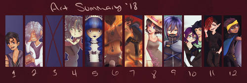 Summary '18 by x-chaoticdawn-x